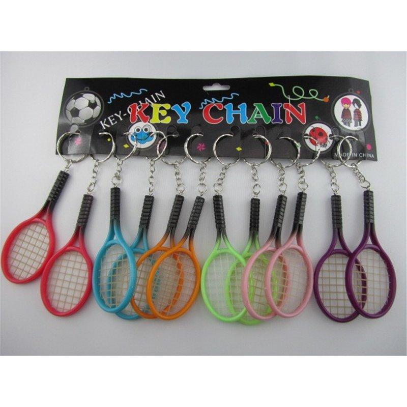 Porte-Clés Raquette de Tennis