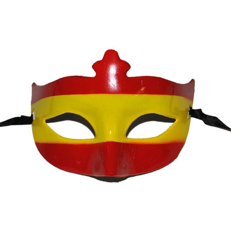Masque Loup au Design du Drapeau de l'Espagne