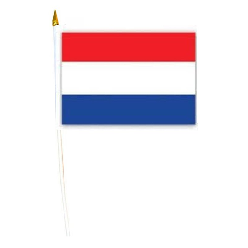 Drapeau Pays-Bas avec Baguette
