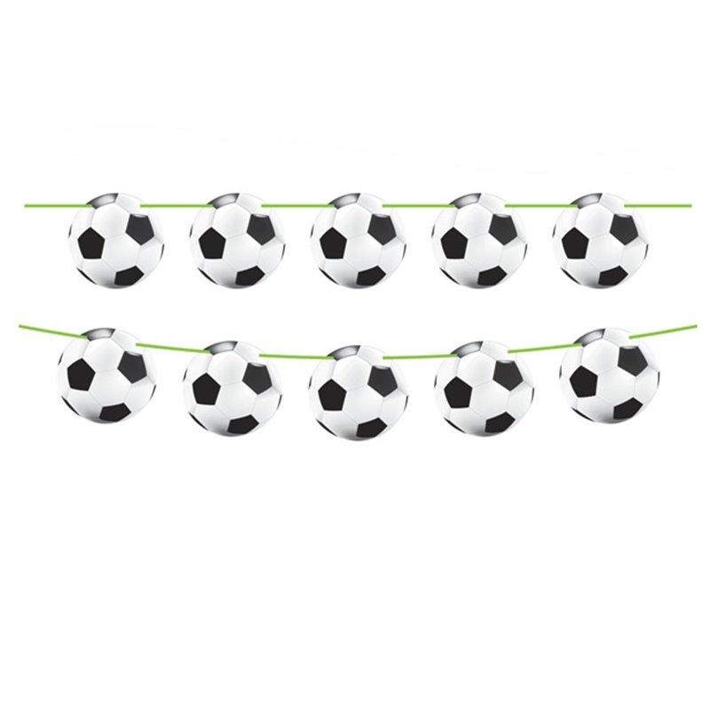 Guirlande de Ballons de Football 10 m