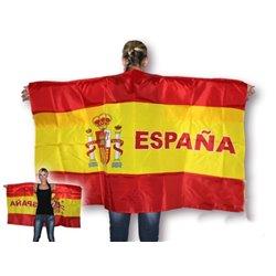 Cape drapeau Espagne 150 x 90 cm