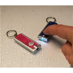 Porte-clés Lumineux Plat LED