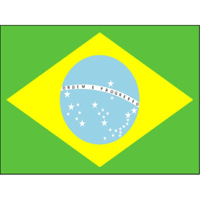 Drapeau Brésil 60 x 90 cm