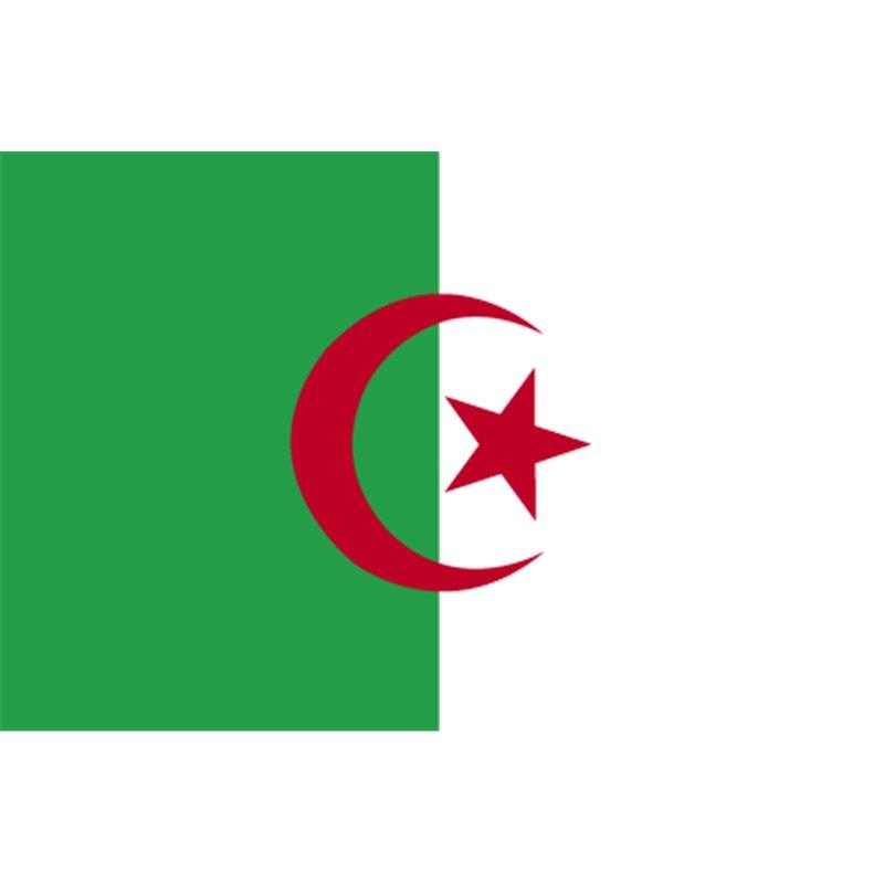 Drapeau pays Algérie 60 x 90 cm