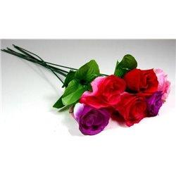Fleur Rose Artificielle 45 cm