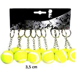 Porte-clés Balle de Tennis 4 cm