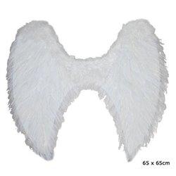 Ailes d'Ange en Plumes 65 cm Blanc