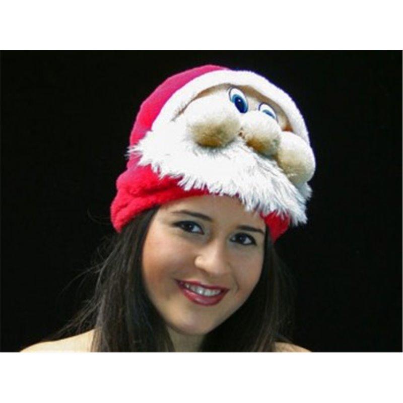 Bonnet Peluche Père Noël