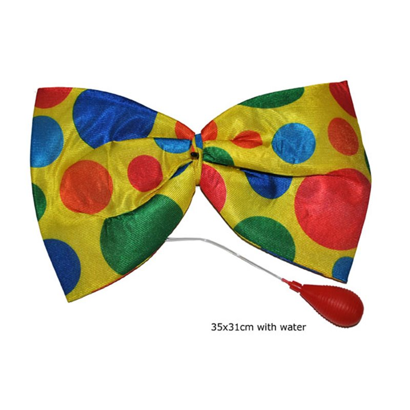 Nœud Papillon de Clown avec Gicleur