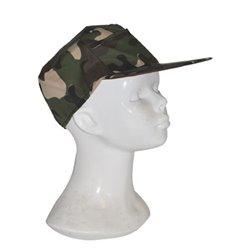 Casquette Militaire Motif Camouflage
