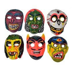Masque Coque Bariolé d'Horreur pour Enfant