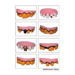 Dentier d'Horreur en Plastique Mou