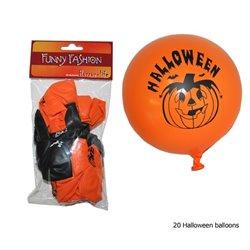 Lot de 20 Ballons Halloween