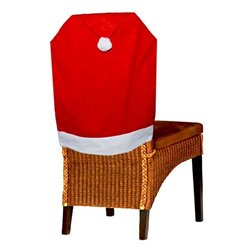 Housse de Chaise Noël en Feutrine