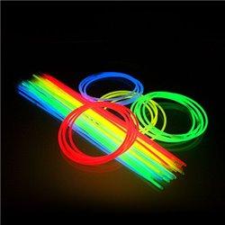 Lot de 50 Colliers Fluo de Coloris Différents
