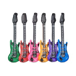 Guitare Gonflable de Différentes Couleurs