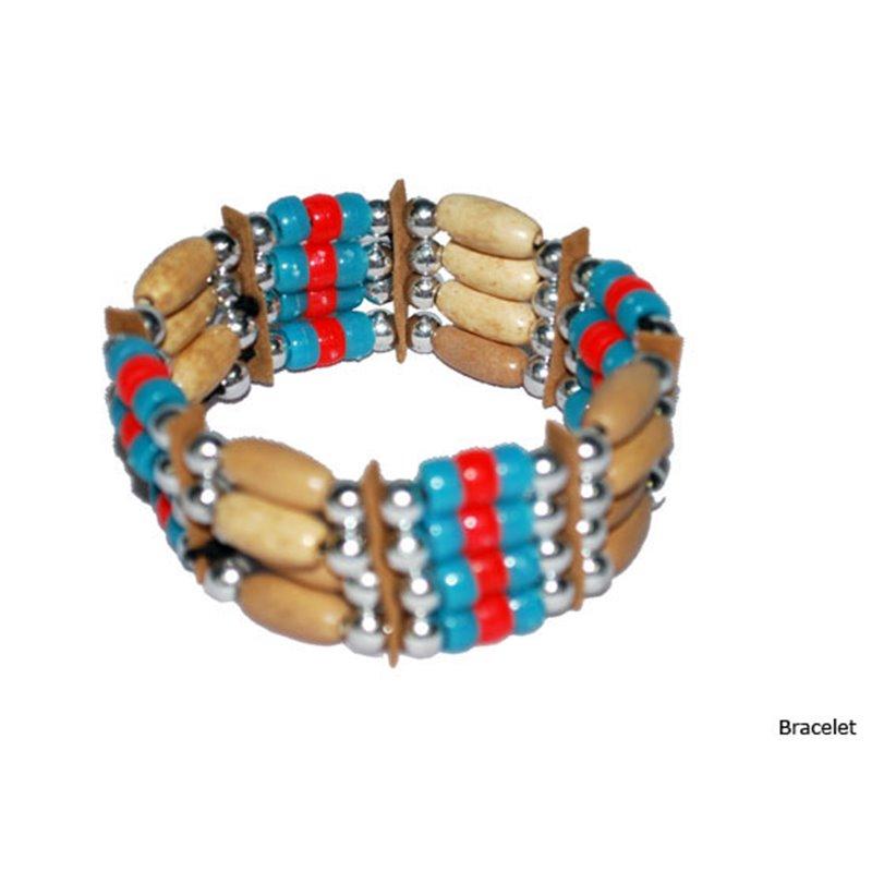 Bracelet d'Indien en Élastique