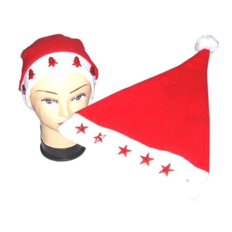 Bonnet de Noël lumineux pour Adulte ou Enfant