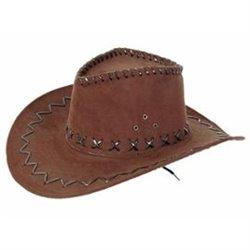 Chapeau de Cowboy Imitation Cuir pour Enfant