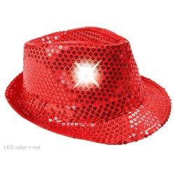 Chapeau Tribly Lumineux à Paillettes