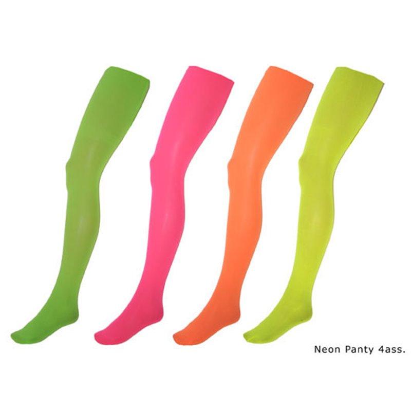 Collant pour Femme Néon Fluo Phosphorescents de Coloris Différents