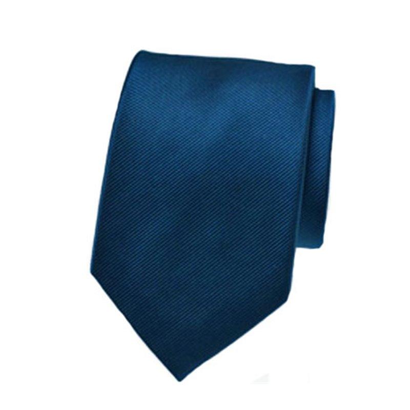 Cravate Unie Satinée 46 cm aux Différentes Couleurs