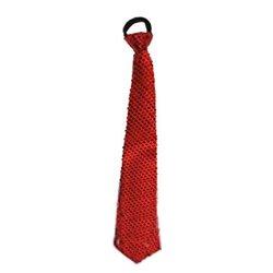 Cravate à Paillettes aux Couleurs Différentes