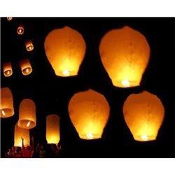 Lanterne volante chinoise avec brûleur Mix