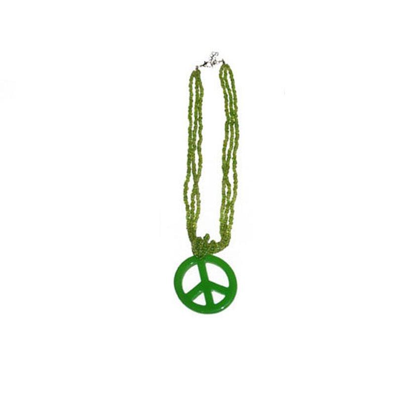 """Collier """"Peace & Love"""" de Différentes Couleurs"""