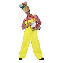 Salopette jaune fluo homme