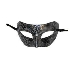 Masque loup style métal