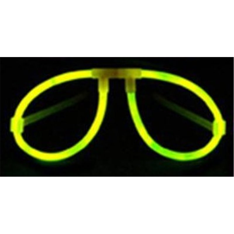 Lot de 2 Lunettes Fluorescentes de Coloris Différents