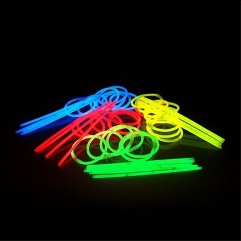 Lot de 100 Bracelets Fluo de Coloris Différents