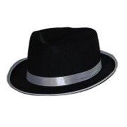 Chapeau Al Capone en Feutrine de Couleurs Différentes