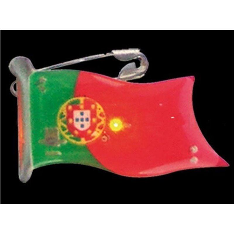 Badge LED en Forme de Drapeau de Différents Pays
