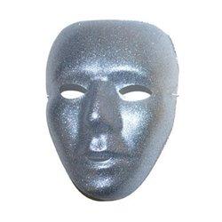Masque Visage à Paillette Argenté ou Doré