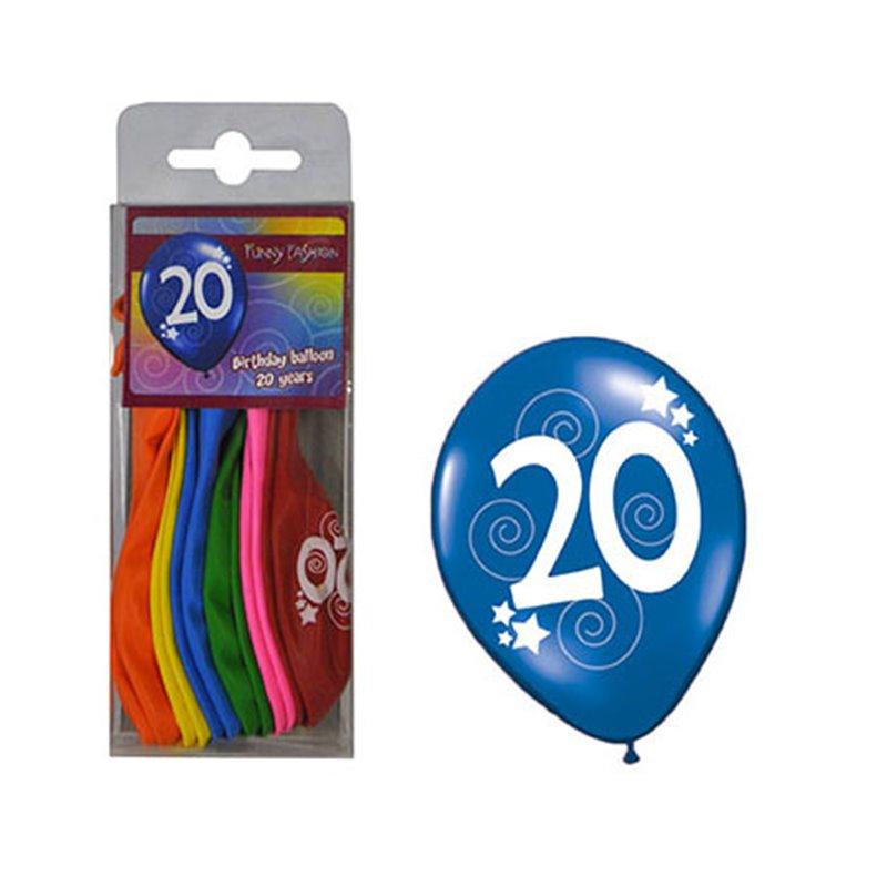 Lot de 12 Ballons Age
