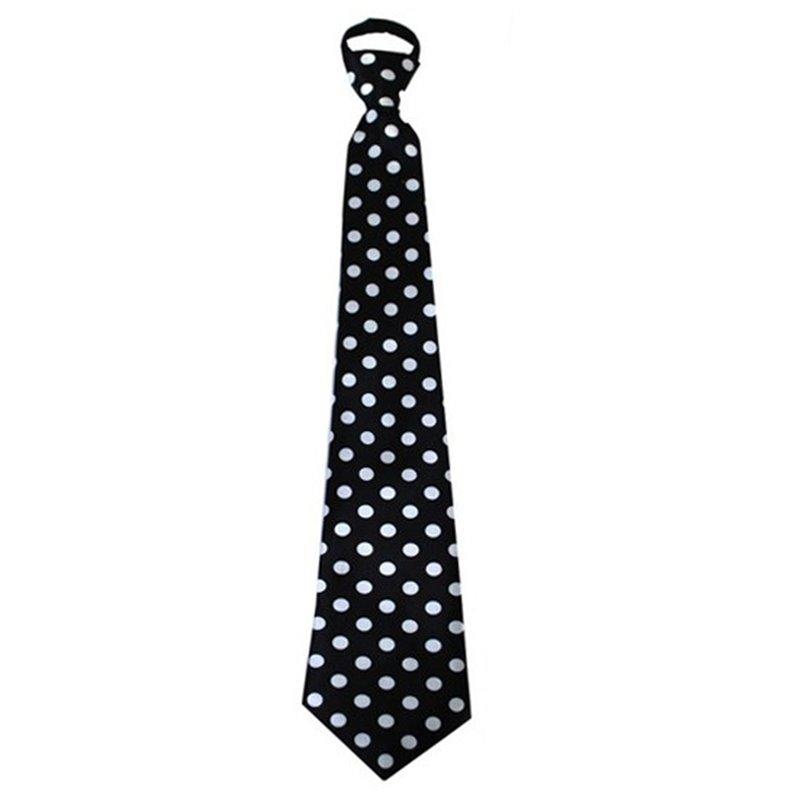 Cravate à Pois 46 cm aux Différentes Couleurs
