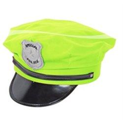 Casquette de police colorée