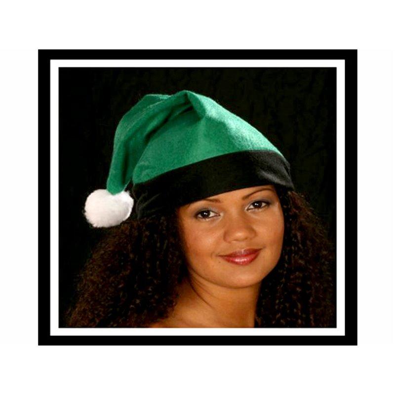 Bonnet de Noël avec Bordure Noire