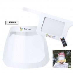 Visière de protection enfant réglable et confort à personnaliser binky