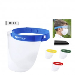 Visière de protection enfant ajustable plusieurs coloris tundex