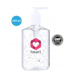 Gel solution hydroalcoolique flacon-pompe 240 ml tassi