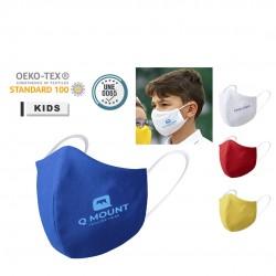 Masque hygiénique enfant réutilisable plusieurs coloris galant