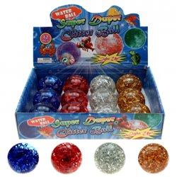 Balles LED à paillettes