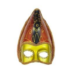 Masque vénitien doré