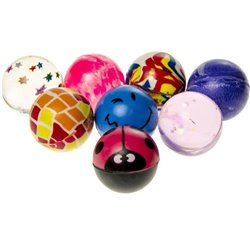 Balle rebondissante 3,2cm Mix