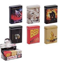 Boîte à cigarettes avec motifs divers Mix