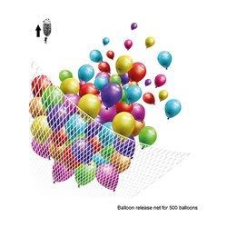 Filet Release 500 ballons latex
