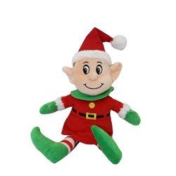 Peluche Elfe Lutin avec Bonnet et Déguisement